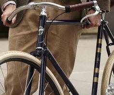 Ralph Lauren bike!! I want one too!
