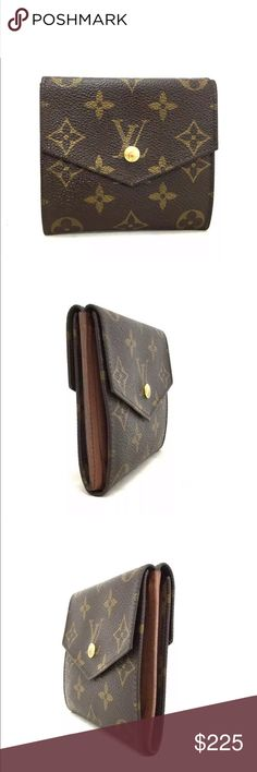 Shop Women s Louis Vuitton Brown size x inches Wallets at a discounted  price at Poshmark. 22c1837188de6