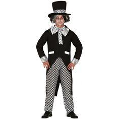 Disfraz de Sombrerero Negro para Adulto