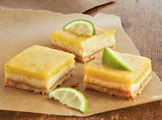 Enjoy these baked cheesecake squares made using white chocolate – a wonderful dessert with citrusy twist.