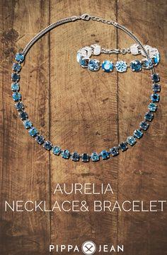 AURELIA NECKLACE & BRACELET - BY PIPPA&JEAN #Oktoberfest #fashion