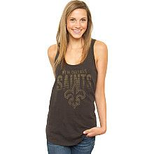 Women's Junk Food New Orleans Saints Touchdown Tank - NFLShop.com