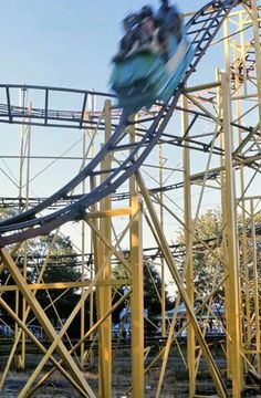 Rocky Point Cyclone Rollercoaster R I State Of Mine