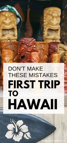 First time trip to Hawaii: Best things to do in Hawaii NOT. Mistakes first-time visitors make. Vacation tips for planning trip to Hawaii on a budget to Kauai, Maui, Oahu Hawaii, Big Island for outdoor travel destinations and Hawaiian culture with what to Kauai, Oahu Hawaii, Visit Hawaii, Hawaii Travel, Vacation Travel, Beach Travel, Disney Hawaii Aulani, Vacation Ideas, Hawaii Trips