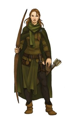 Ranger, Elves and Outfit on Pinterest