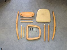 Disassembled second hand chair  Markos Ioannides