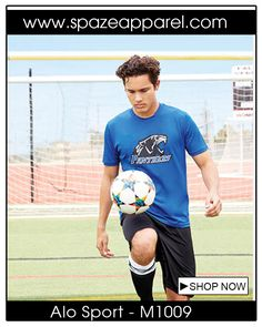 #Alosport #performance #sports #athletes #tshirt Enhance performance in your game with Alo Sport M1009 performance short sleeve t-shirt. Buy it here
