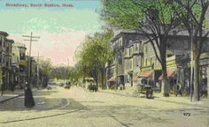 Broadway, South Boston in the late 1800's.