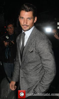 david gandy at the harpers bazaar LFW end party - september 17, 2013