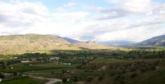 South Okanagan view from Tinhorn Creek Winery.