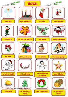 Noel - vocabulaire