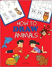 How to Draw Animals Learn to Draw For Kids, Step by Step Drawing (How to Draw Books for Kids) pdf Step By Step Drawing, Easy Drawing Steps, Easy Drawings, Book Drawing, Drawing For Kids, Animal Sketches, Animal Drawings, Learn To Draw Books, Learning To Draw For Kids