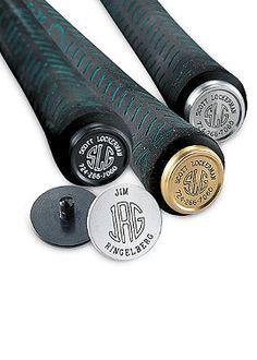 10th anniv. gift idea--- Monogrammed Golf Club Links