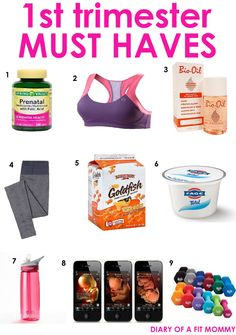 First Trimester Pregnancy Must Haves and Lifesavers