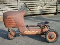 1950s Pedal Tractor