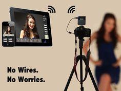 CameraMator: Wireless Tethered Photography by Usman Rashid, via Kickstarter.