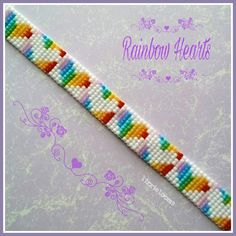 Beaded bracelet made with the Jewel loom using 11/0 Toho seed beads. #lizzielooms #beadedjewelry #jewelloom #makeitwearitshareit…