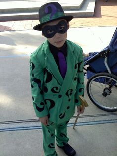 The Riddler from Batman. One of my favorite costumes :)