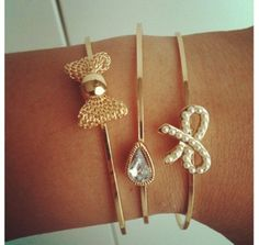 Lauren Conrad bracelets<3