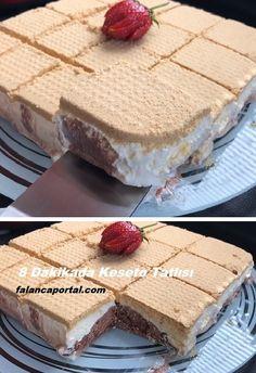 Cassette Dessert in 8 Minutes - Chocolate Recipes Dump Cake Recipes, Cheesecake Recipes, Cheesecake Cookies, Fun Easy Recipes, Easy Cookie Recipes, Pumpkin Pecan Cobbler, Best Cookies Ever, Chocolate Recipes, Easy Desserts