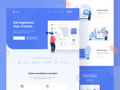 Saas Landing Page designed by Soni for OWW. Best Landing Pages, App Landing Page, Landing Page Design, Web Design, Global Design, Flat Design, Web Layout, Page Layout, Seo Guide