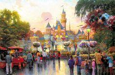 Thomas Kinkade Disney 50th