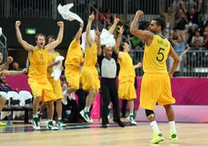 Patty Mills, Boomers superstar at the London Olympics scores a 3-pointer © Getty Images
