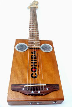 Cohiba Cigar Box Electric Guitar Handmade Antique