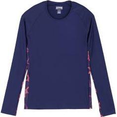 Damen Sleeve Stripe Mesh Jersey T-Shirt Streifen College Ärmelstreifen College