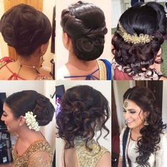 17 Best Indian Hairstyles by Hairstyling Salons and V-loggers in India Indian Hairstyles, Updos, Blond, Long Hair Styles, Monkey, Lifestyle, Instagram, Fashion, Top Hairstyles