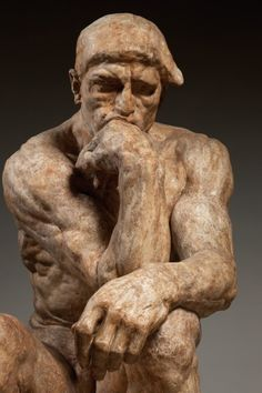 Rodin: Transforming Sculpture | Peabody Essex Museum, Salem, MA | May 14-September 5, 2016 | Auguste Rodin (1840-1917). The Thinker, large version.