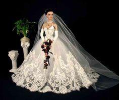 Wedding gown by Cindy Friesen of Red Silk Thread.