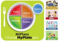 Find #nutrition resources for #Spanish - speaking audiences from #MiPlato (the Spanish complement to #MyPlate) #recipes #recetas #tipsheets #kids #ninos #education