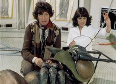 Ark in Space - Four and Sarah Jane