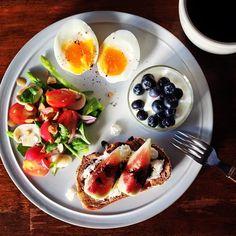 Kei Yamazaki @keiyamazaki Today's breakfast.Instagram photo | Websta (Webstagram)