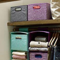 Storage Baskets, Storage Bins & Canvas Bins | PBteen