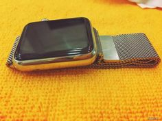 Bán Apple Watch Stainless Steel Case with Milanese Loop