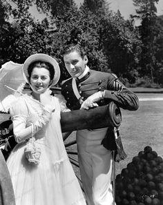 8x10 Photo Print Errol Flynn Olivia De Havilland Santa Fe Trail 1940 #EFOD9