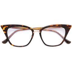 b508df1864ea Dita Eyewear Rebella Glasses ( 741) ❤ liked on Polyvore featuring  accessories