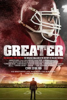 I loved watching Greater. It's a good family movie and even if you aren't in to football, the message in it is universal.