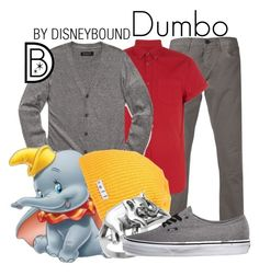 """""""Dumbo"""" by leslieakay ❤ liked on Polyvore featuring 3x1, 21 Men, Neff, Vans, women's clothing, women, female, woman, misses and juniors"""