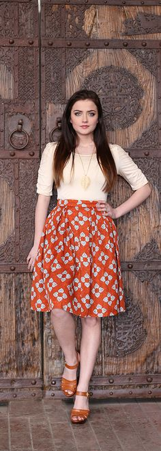 Full Of Hearts Skirt [MSS1934] - $44.99 : Mikarose Boutique, Reinventing Modesty