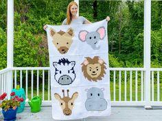 Crochet Elephant Pattern, Crochet Animal Patterns, Stuffed Animal Patterns, Crochet Animals, Afghan Patterns, Crochet Whale, Crochet Sloth, Crochet Fish, Giraffe Pattern