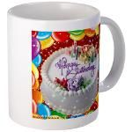 Happy Birthday Mugs #2 Mug  http://www.cafepress.com/lovepositivethinking/9109895