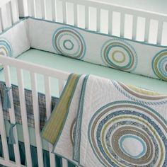 Love this bedding! In my mind it's gender neutral because I love all these colors! :)