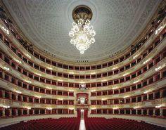 Teatro alla Scala, a gorgeous, world-renowned opera house in Milan.