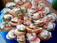 Rezept Lachshappen - Der perfekte Snack für die Party von Thermomix Nümbrecht - Rezept der Kategorie Hauptgerichte mit Fisch & Meeresfrüchten