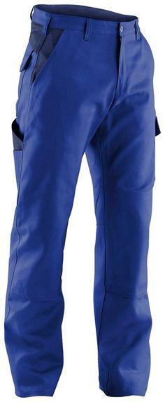 KÜBLER Arbeitshose »IDENTIQ cotton« ab 44,99€. Belastungspunkte mit Riegel gesichert, mit Knieschutztaschen, Smartphonetasche auf Seitentasche bei OTTO