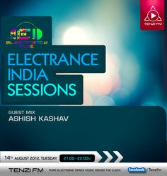 Tune in to TenziFM - Fresh Electronic Dance Music Round the Clock!