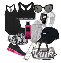 A fashion look from December 2016 featuring hooded sweatshirt, workout shirts and victoria secret sports bra. Browse and shop related looks. Sports Day, Nike Golf, Marc Jacobs, Victoria's Secret, Shoe Bag, Polyvore, Stuff To Buy, Shopping, Design